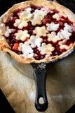Juicy πίτα φρούτων Στοκ Φωτογραφία