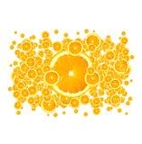 juicy πορτοκάλια Στοκ φωτογραφία με δικαίωμα ελεύθερης χρήσης