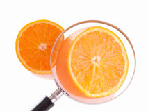 juicy πορτοκάλι loupe Στοκ φωτογραφίες με δικαίωμα ελεύθερης χρήσης