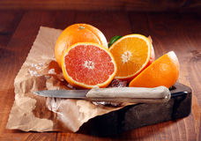Juicy πορτοκάλια Στοκ Εικόνες