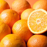 Juicy πορτοκάλι για το χυμό από πορτοκάλι Στοκ φωτογραφία με δικαίωμα ελεύθερης χρήσης