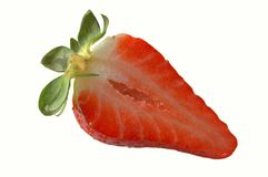 juicy φράουλα Στοκ φωτογραφία με δικαίωμα ελεύθερης χρήσης