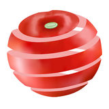 Juicy ώριμη κόκκινη ντομάτα Στοκ φωτογραφία με δικαίωμα ελεύθερης χρήσης