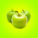 Juicy Apples Royalty Free Stock Photography