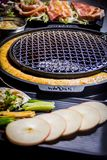 A juicy barbecued cuisine. A food photo of barbecued or grilled cuisine stock photography
