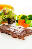 Juicy BBQ grilled rib eye ,ribeye steak Royalty Free Stock Images