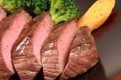 Juicy beef fillet Royalty Free Stock Images