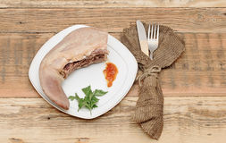 Juicy beef tongue Royalty Free Stock Photography