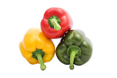 Juicy Bell Peppers Royalty Free Stock Photography