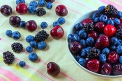 Juicy berries Stock Photos