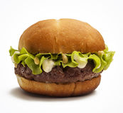 Juicy burger Stock Images