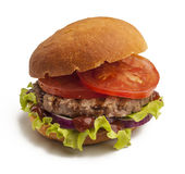 Juicy burger Royalty Free Stock Photography