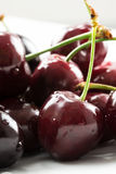 Juicy cherries Stock Photo