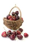 Juicy cherries Stock Image