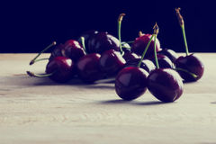 Juicy Cherries Stock Photography
