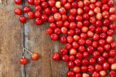 Juicy cherries Stock Photo