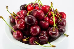 Juicy cherry Stock Photo
