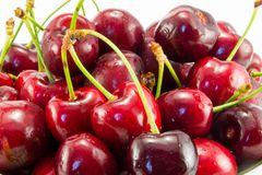 Juicy cherry Stock Photos