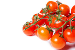 Juicy Cherry tomatoes Royalty Free Stock Image