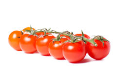 Juicy Cherry tomatoes Royalty Free Stock Photography