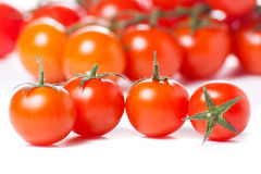 Juicy Cherry tomatoes Royalty Free Stock Images