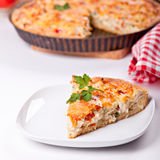 Juicy chicken pie Royalty Free Stock Photography