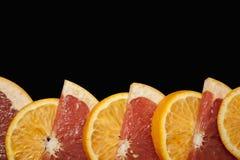 Juicy citrus cutting stock images