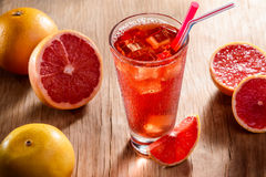 Juicy citruses for a recipe Stock Photography
