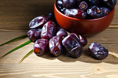 Juicy dates Royalty Free Stock Photography