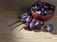 Juicy dates Royalty Free Stock Photo