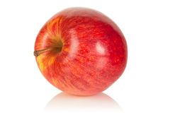 Juicy delicious red apple Royalty Free Stock Photo