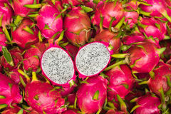 Juicy Dragon fruit Royalty Free Stock Photos