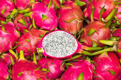 Juicy Dragon fruit Stock Photos