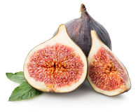 Juicy figs Stock Image