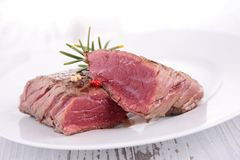 Juicy fillet steak Royalty Free Stock Photos