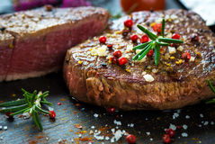 Juicy Fillet Steak Royalty Free Stock Images