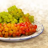 Juicy fresh grapes Royalty Free Stock Photo