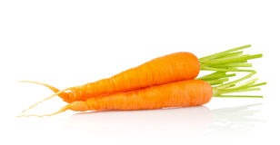 Juicy fresh organic carrot Royalty Free Stock Images