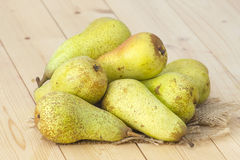 Juicy fresh pears Stock Photo