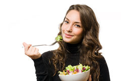 Juicy fresh salad. Royalty Free Stock Photography