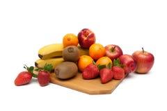 Juicy fruit isolated on white background. Royalty Free Stock Images
