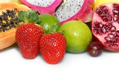 Juicy fruits Royalty Free Stock Images