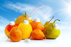 Juicy Fruits Stock Photos