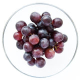 Juicy, full-bodied grapes in a wine glass Royalty Free Stock Image