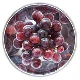 Juicy, full-bodied grapes in a wine glass Royalty Free Stock Photo