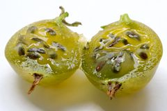 Juicy gooseberry Stock Photos