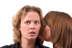Juicy gossip Stock Image