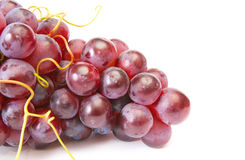 Juicy grape on a white. Stock Photography