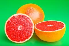 Juicy grapefruit Stock Photos