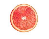 Juicy grapefruit isolated on white Royalty Free Stock Photography